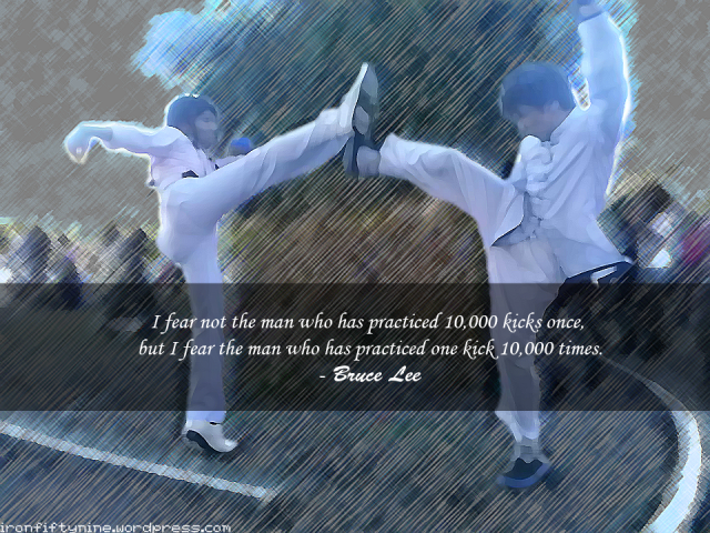 Random Quote - Bruce Lee