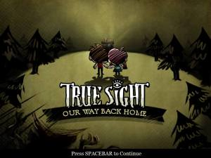 True Sight Title Screen courtesy of Aileen