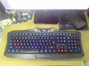 Dragonwar Silvio Gaming Keyboard: Maybe a poor man's Razer as dubbed by one of my former colleagues