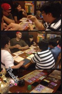 Fun game and good food wit hformer colleagues and boardgame enthusiasts!
