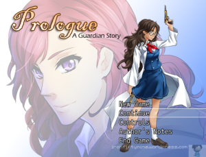 Prologue Title Screen
