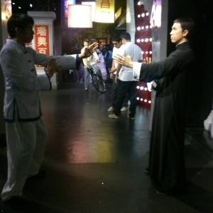My entire purpose all along for coming to Hong Kong. A cosplay pic with Ip Man.