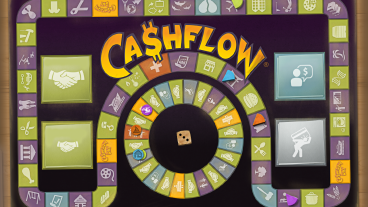 Cashflor Board Game - mobile version. Image from - http://play.google.com