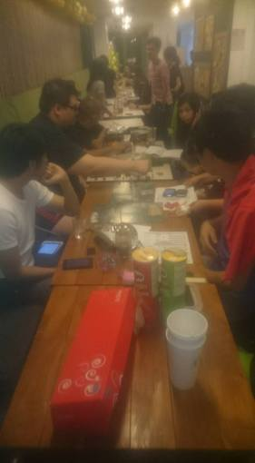 Our D&D Session in Moonleaf+Bunnies Cafe